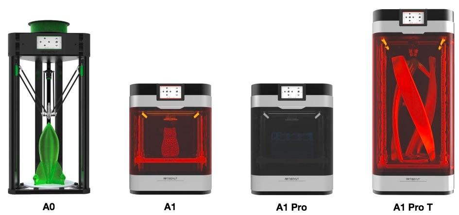 ArtiBoyut 3D Printers