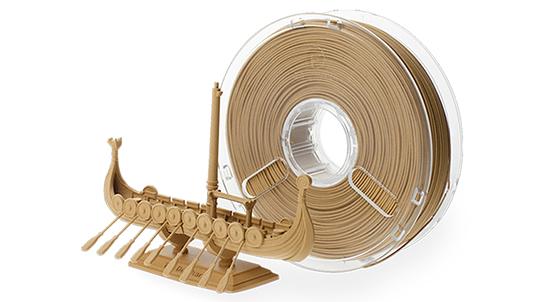 Tahta, Ağaç Kabuğu ve Bambu filamentleri