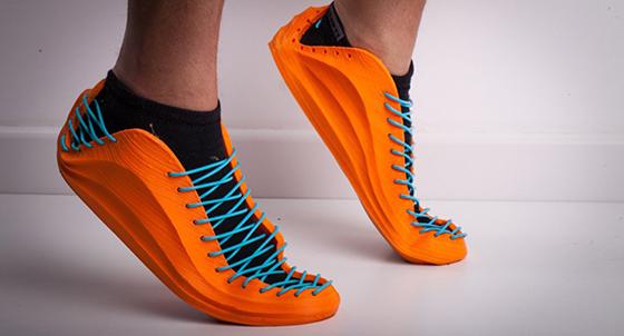 Esnek PLA filamentinden basılmış ayakkabı