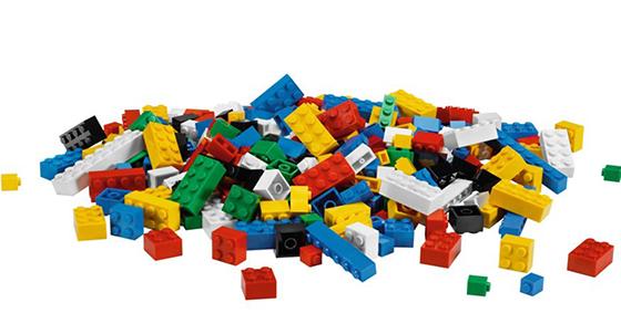 LEGO parçaları ABS malzemesinden yapılır